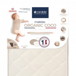 Matelas bebe Organic Coco...