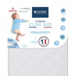 Matelas bebe Clim Air Candide