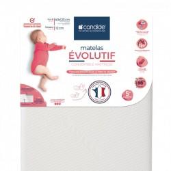 Matelas bebe Evolutif Candide