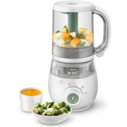 Robot cuiseur-mixeur 4-en-1...