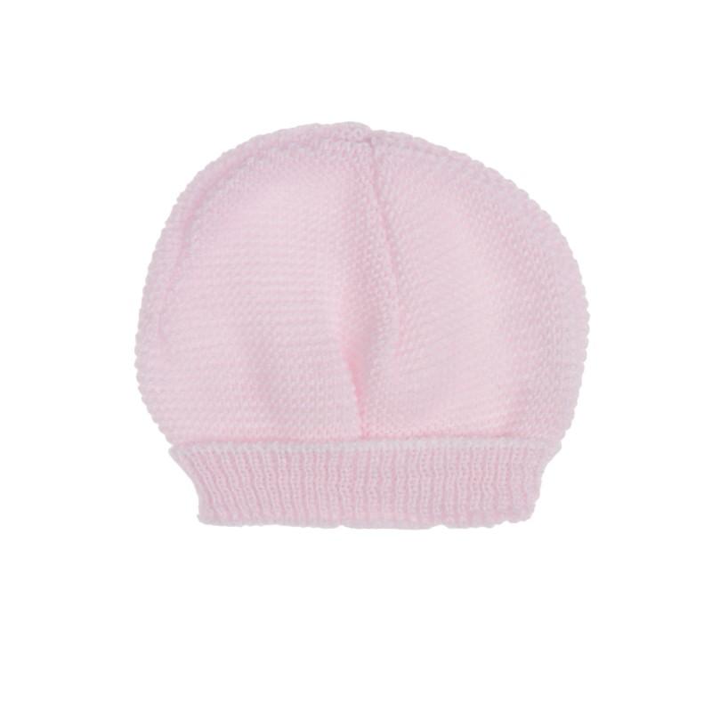 a0e34a9e511 Ce bonnet de naissance à liens de MLT est tout doux