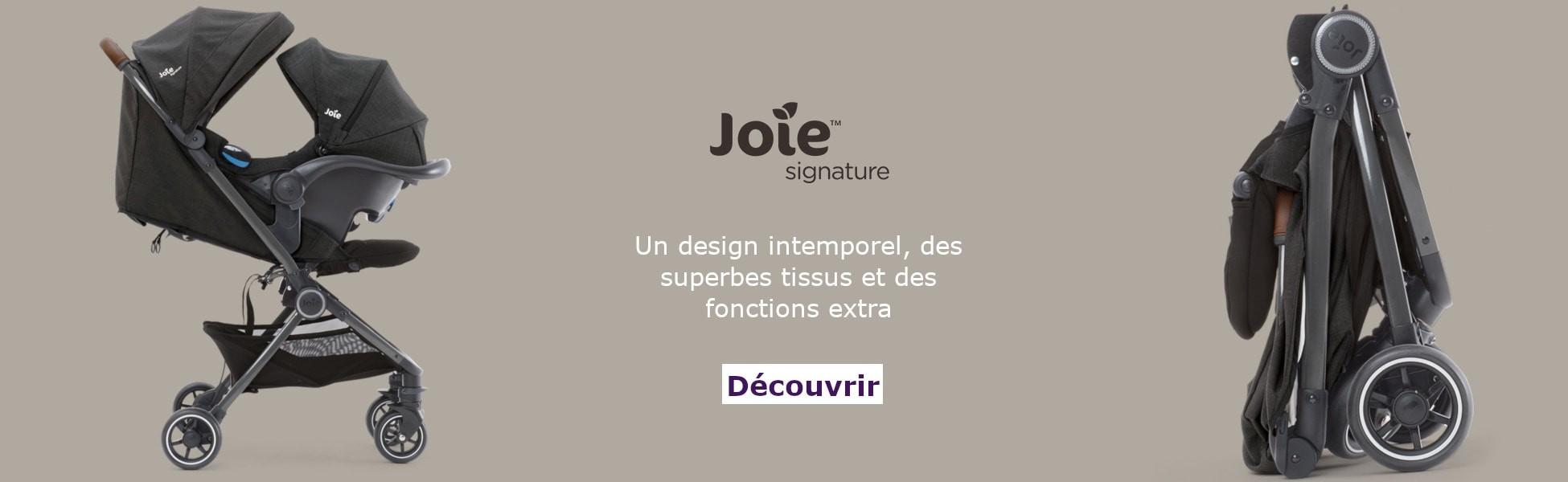 Poussette PACT Signature Joie